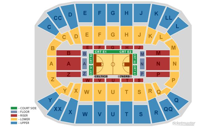Nba Preseason 76ers Vs Celtics Mullins Center