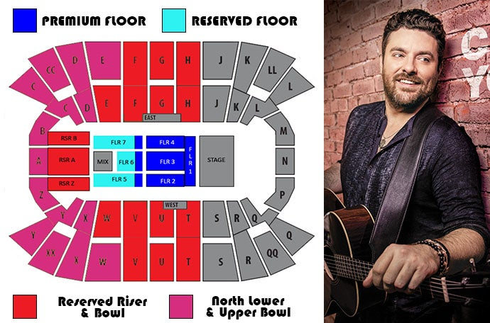 Chris Young - Raised on Country Tour 2019