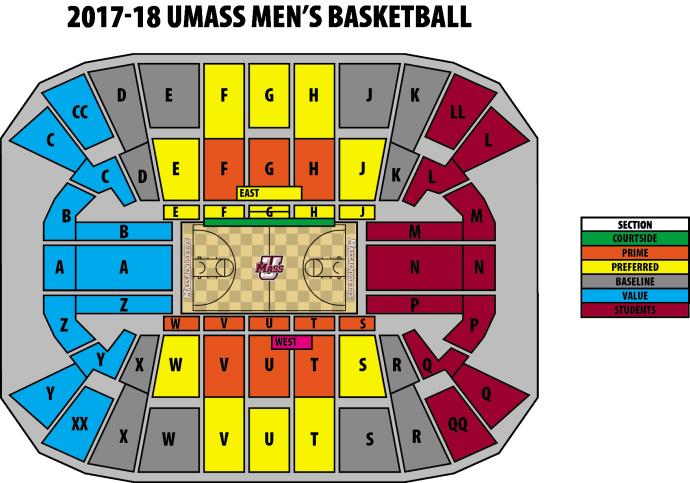 UMass Men's Basketball 2017 - 2018