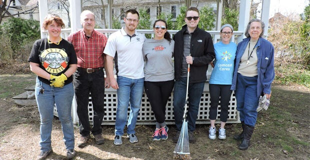 Mullins Center Staff Volunteered at Historic Northampton.jpg