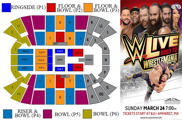 WWE Live! - Road to Wrestlemania